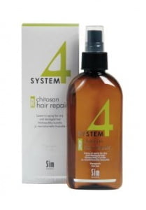 "Терапевтический спрей ""R"" System 4, 200 мл, Chitosan Hair Repair ""R"", Sim Sensitive"